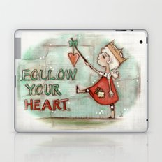 Follow Your Heart - by Diane Duda Laptop & iPad Skin