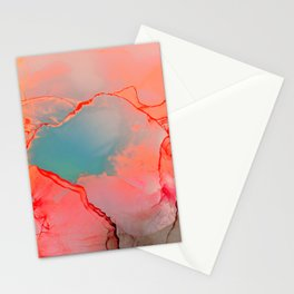 BETTER TOGETHER - LIVING CORAL by MS Stationery Cards
