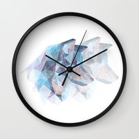 wolves Wall Clocks featuring Wolves by KesuOriesok