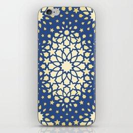 Arabesque Pattern - Golden Hour iPhone Skin