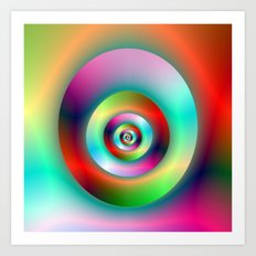 Torus Without and Within the Hole Art Print