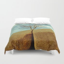 Solitary Duvet Cover