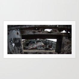 Left to Rust Art Print