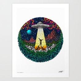 WONDERMENT - COLORED - Visothkakvei Art Print