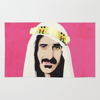 zappa Area & Throw Rugs featuring ZAPPA! by f_e_l_i_x_x