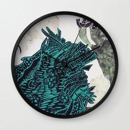 Potential Paisley Wall Clock
