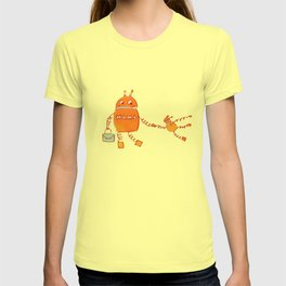 Robomama Robot Mother And Child T-shirt