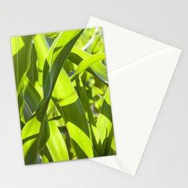 corn foliage Stationery Cards