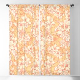 Appleflowers Blackout Curtain