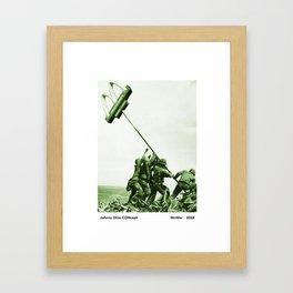 McWar Framed Art Print