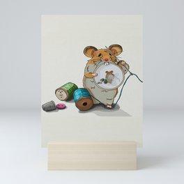The little mouse Mini Art Print
