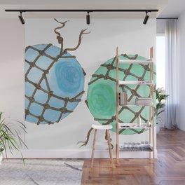 Glass Floats Wall Mural