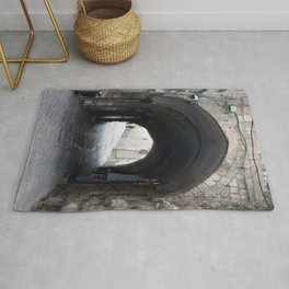 Old tunnel Rug