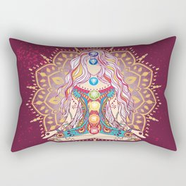 Balanced Chakras 1 Rectangular Pillow