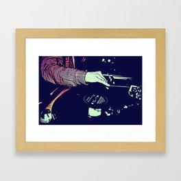 table love Framed Art Print