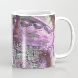 Shimmery Lavender Abalone Mother of Pearl Coffee Mug