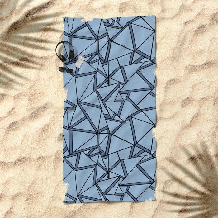 Ab 2 Blues Beach Towel