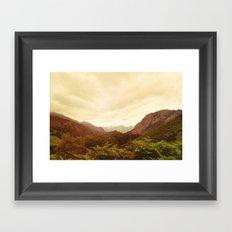 mountains (02) Framed Art Print