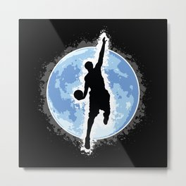 Shoot for the moon! Metal Print