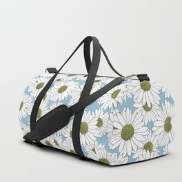 Daisy Blue Duffle Bag