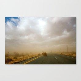 Dust Roll Canvas Print