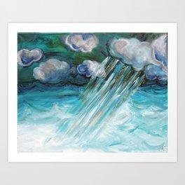 Glory in the Storm Art Print