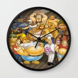 Grommr Guys Wall Clock