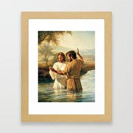 John The Baptist Framed Art Print