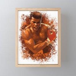 The People's Champ Framed Mini Art Print