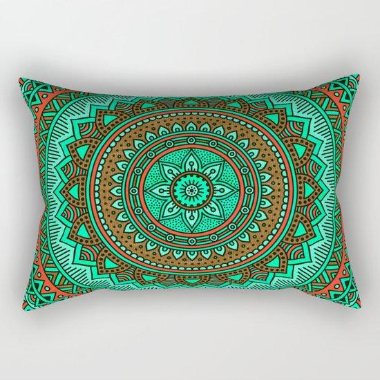 Hippie mandala 87 Rectangular Pillow