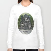 ganesha Long Sleeve T-shirts featuring Ganesha by Lucia