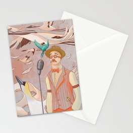 Aviator Night Stationery Cards