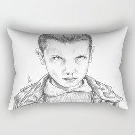 Stranger Things - Eleven Portrait Rectangular Pillow