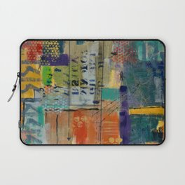 Conversing in Color Laptop Sleeve