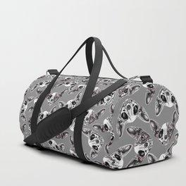 Shynx Half Skull Pattern Duffle Bag