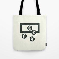 Money Tote Bag