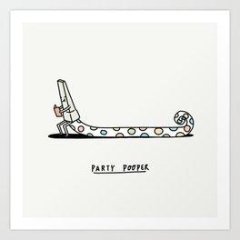 Party Pooper Art Print