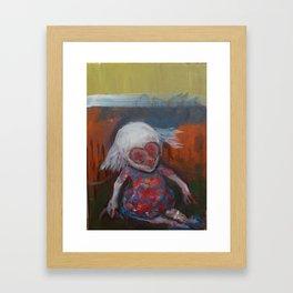 heartface Framed Art Print
