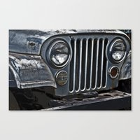 jeep Canvas Prints featuring Jeep by Harold Naideau Photography