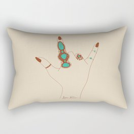 Love Language Rectangular Pillow