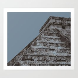Chichen Itza Art Print