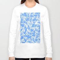 cherry blossom Long Sleeve T-shirts featuring Cherry Blossom by Elena O'Neill