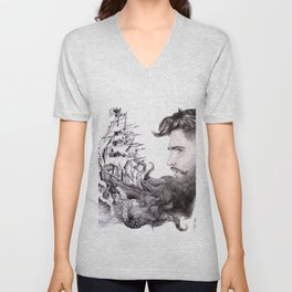 Sailor's Beard Unisex V-Neck