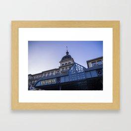 VICTORIA HOTEL - SWITZERLAND Framed Art Print