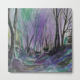 Magic Forest Are Just a Little Bit Haunted Metal Print