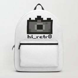 hi_retr0 logo Backpack