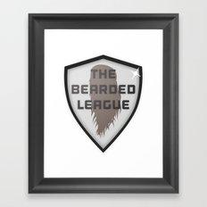 The Bearded League Framed Art Print