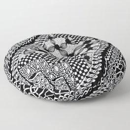 The Restless Mind Floor Pillow