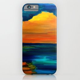 Sunset 129 iPhone Case