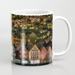 The Iconic Architecture of Bergen Coffee Mug